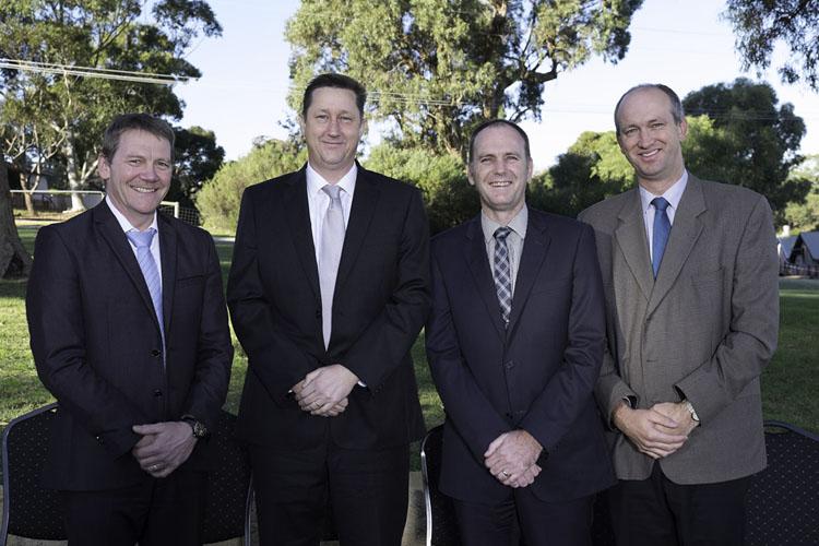 Executive of Synod Baldivis:   Br D Bonker (First Clerk), Rev E Rupke (Vice Chairman), Rev S 't Hart (Chairman), Rev C Vermeulen (Second Clerk)