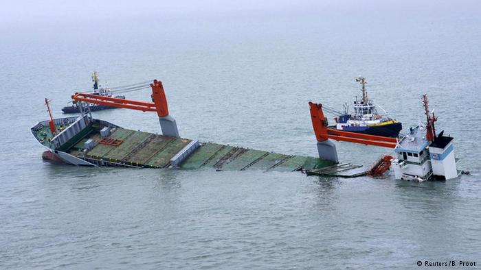 Dutch Ship Sinking