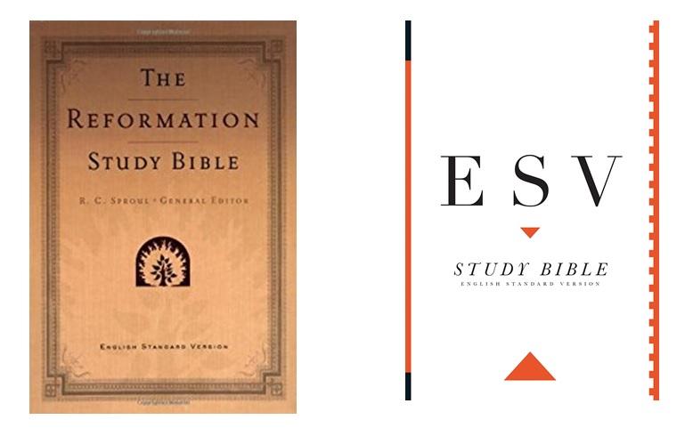 ESV vs Reformation Study Bible